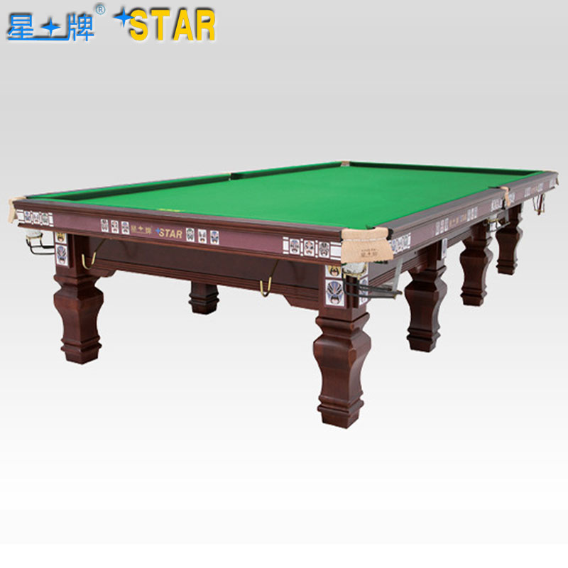 Star brand pool tables xw105-12s standard adult peking opera based thermometer ball room billiard snooker taiwan