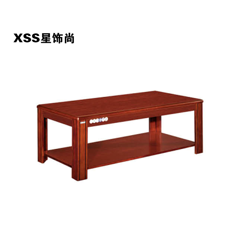 Star ornaments still chongqing office reception sofa table coffee table coffee table solid wood coffee table office furniture single double coffee table