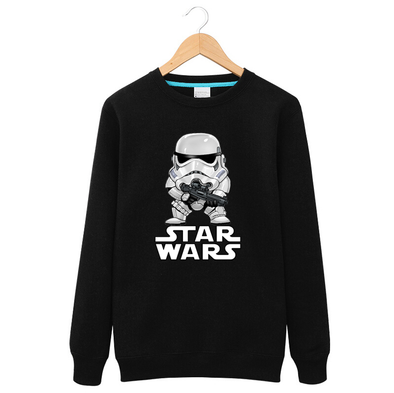 Star wars in spring and autumn clothes spring and autumn thin section adolescent autumn teenagers round neck sweater coat male student