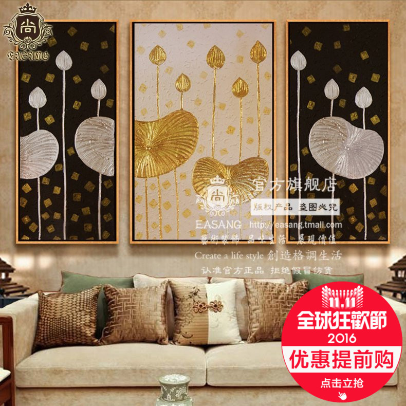 Station shangdong nan yatai style painting freehand painting the living room study decorative painting mural painting abstract paintings framed painting wall painting