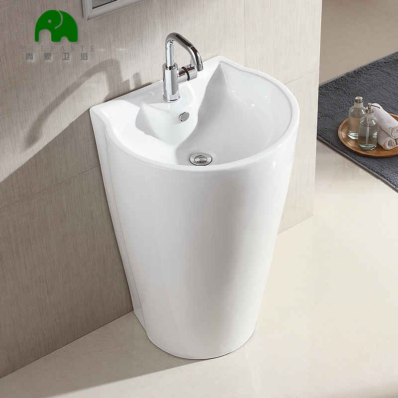 Still like column washbasin ceramic wash basin balcony bathroom sink piece vanity pool one basin