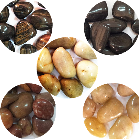 Stone/pebble/colorful/decoration stone/extra deep polished black 2-4 CM/6 1 yuan catty small stone
