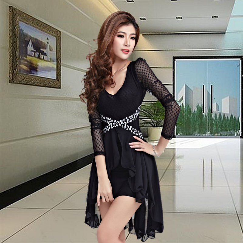 Strapless dress sexy nightclub ds costumes costumes ktv princess clothes bar girl singer clothing