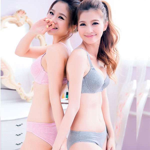 59fb7f29e2 Buy Su wei nick seoul japanese girl sexy underwear set solid color simple  wild thin section gather bra sets in Cheap Price on Alibaba.com