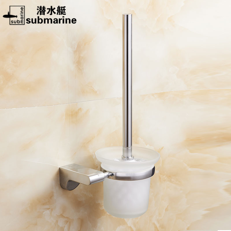 Submarine hose stainless steel toilet brush toilet suite bathroom ware metal pendant toilet toilet toilet brush holder toilet brush GH16