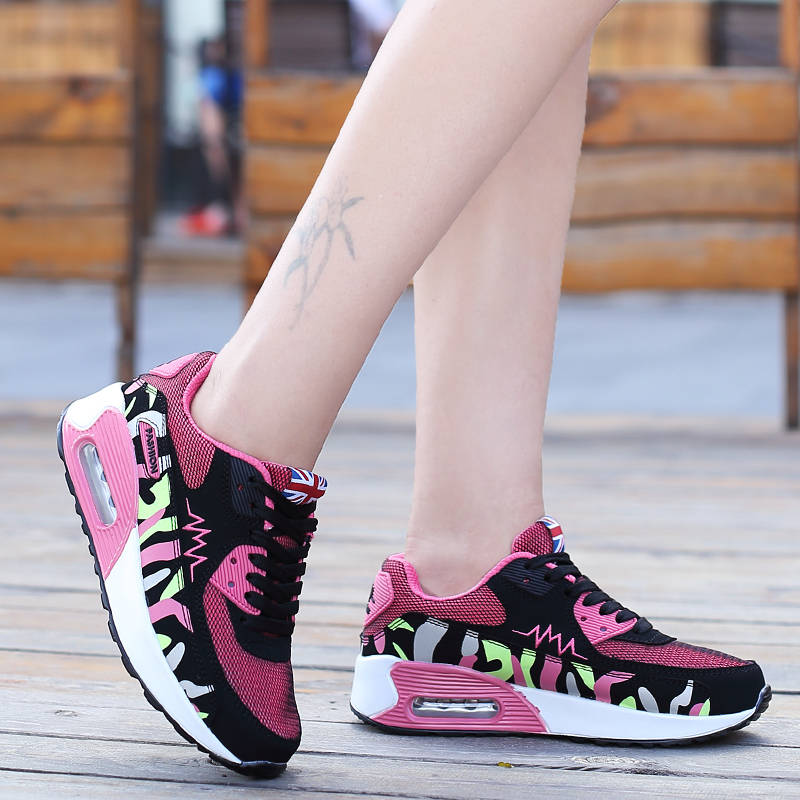 Summer air cushion shoes women shoes casual sports shoes breathable mesh running shoes women shoes korean flat shoes women shoes forrest gump