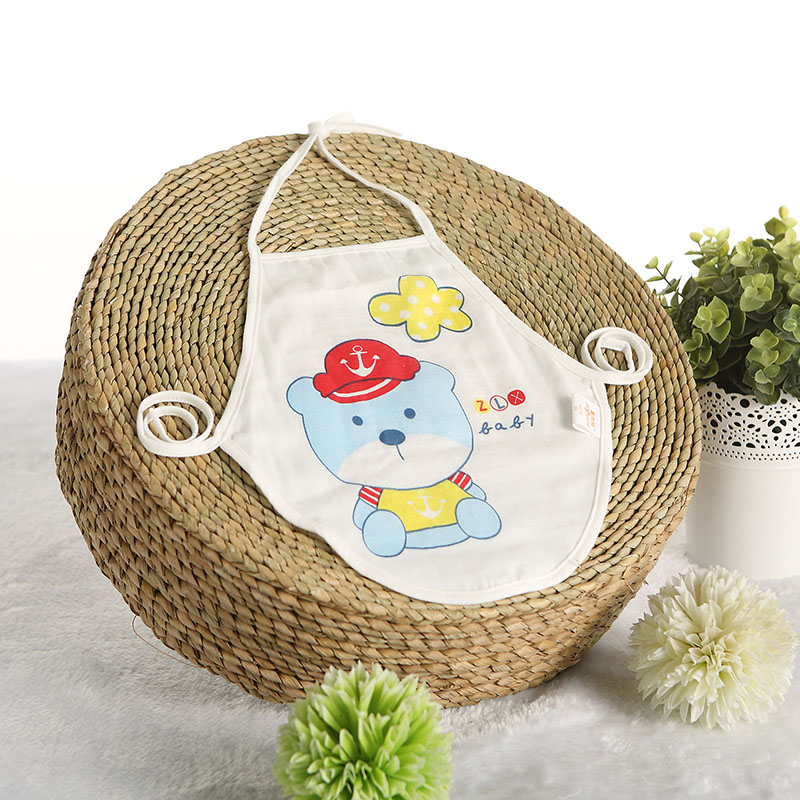 Summer baby cotton gauze summer newborn baby care belly apron small apron men and women gauze baby apron