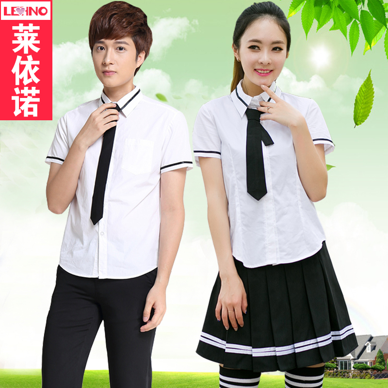 Summer korean version of the high school students of the japanese sailor suit uniforms jk uniforms middle school students loaded class service costumes