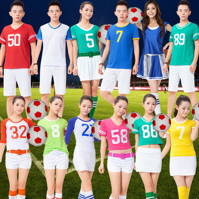 Summer new adult children cheerleader cheerleaders cheerleading performance clothing dance competition costumes suit