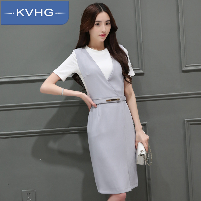 Summer new women kvhg 2016 fashion small fragrant wind ms. long section piece dress 0971