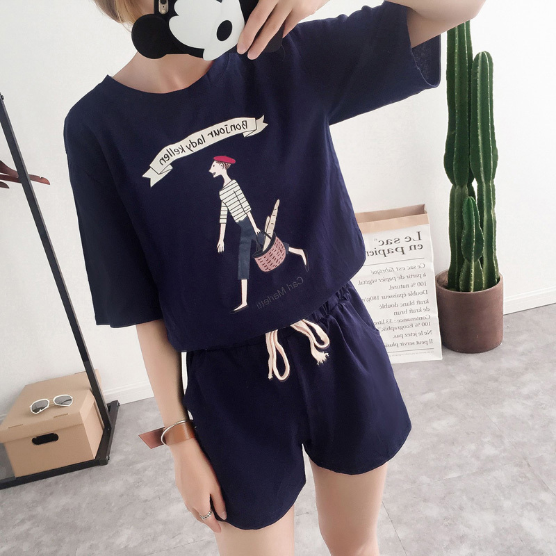 Summer sports suit leisure sports suit small children early summer 20 summer women new summer korean version of 16