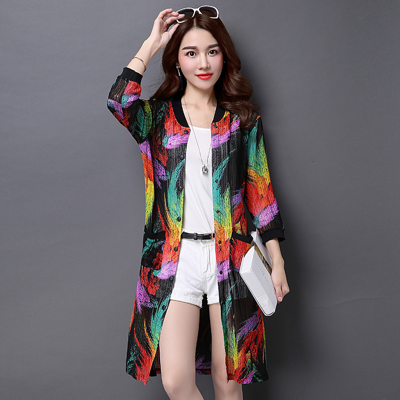 c748886c00 Get Quotations · Sun protection clothing female summer long section of thin uv  sun protection clothing beach sun protection