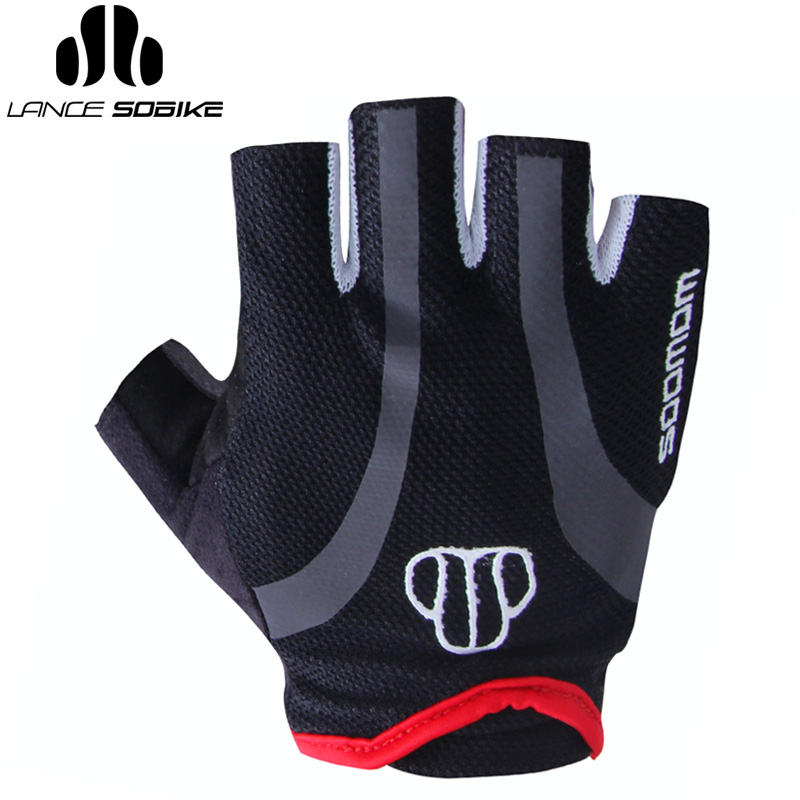 Super league cycling half finger gloves spring and autumn men and women dead fly mountain bike road bike racing bike skid