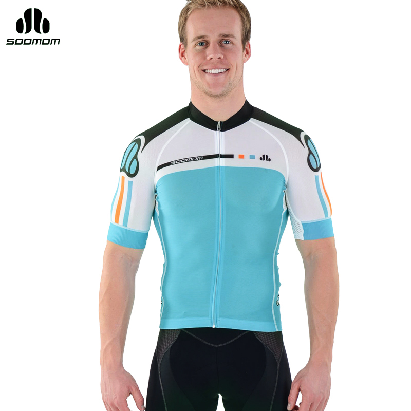 Super league lance sobike 2015 spring and summer mountain bike jersey short sleeve t-shirt sportswear feathers