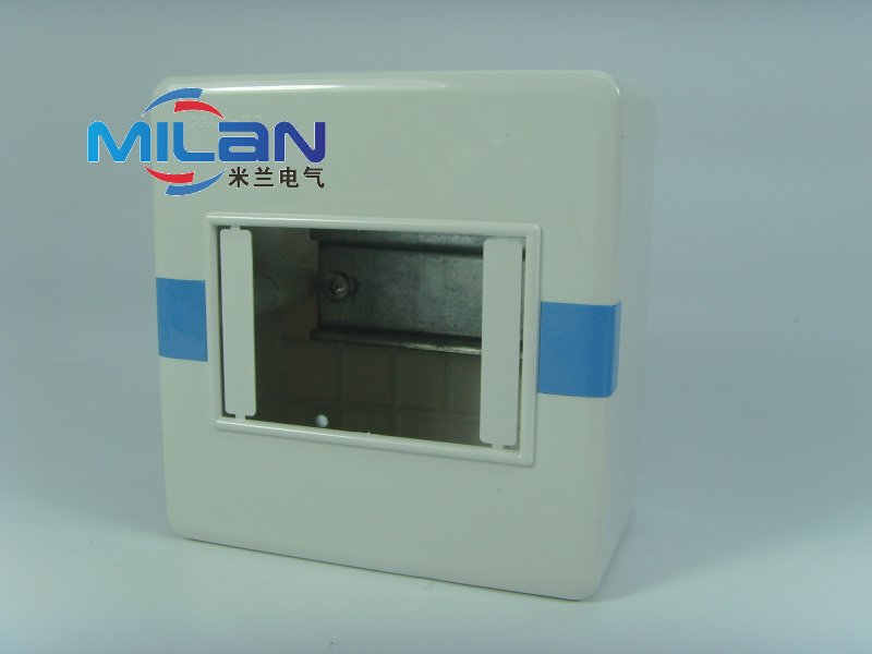 Surface mounted air switch box air switch box distribution box strong electric box empty open box empty box 4 loop 4