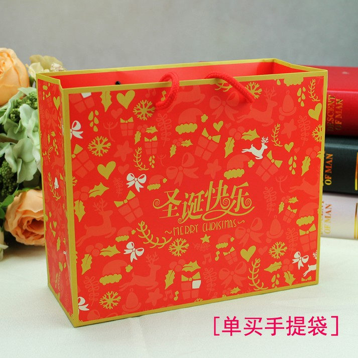 Sweetlive christmas apple box christmas gift bag tote bag ping fruit gift boxes