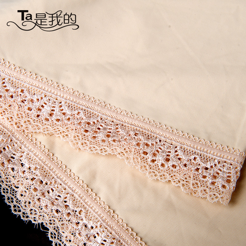 Ta is my single loaded ice silk lace lace pants anti emptied safety pants boxer