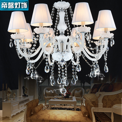 Tai hing noblemen extraordinary european crystal lamps ceiling with vintage chandelier shade cloth living room dining room