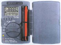Taiwan benefited DE-16 bagged high precision digital multimeter display compact portable pocket can hold