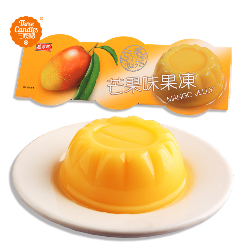Taiwan imported sheng xiangzhen jelly cup jelly pudding mango/peach flavor/egg flavor 330g/board
