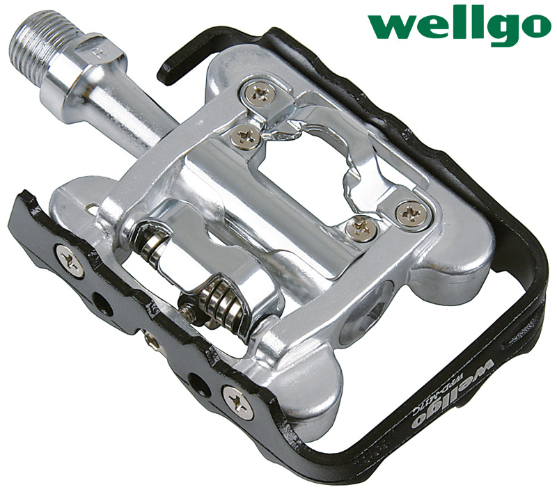 Taiwan wellgo ludwig wpd-m17c mountain road riding bicycle lock bearing sided dual lock riding equipment