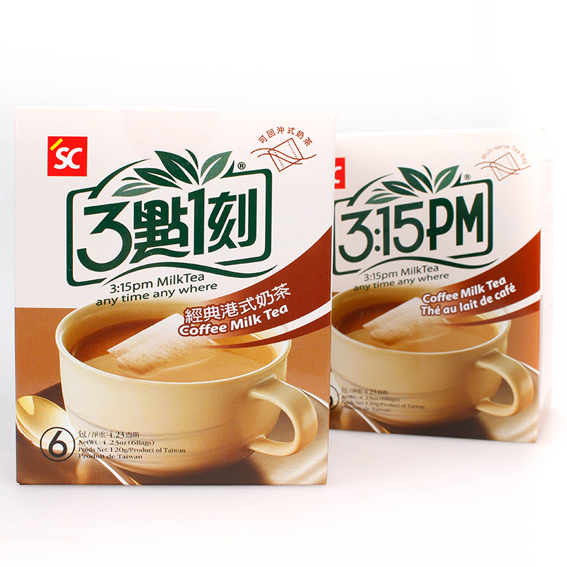 Taiwan's imports quarter past three 03:15 classic hong kong style casual afternoon drinks tea afternoon tea 100g