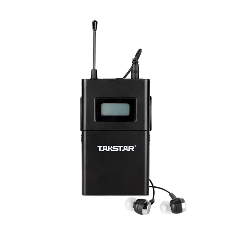 Takstar/victory wpm-200 single receiver wireless headphones ear headphones stage performances foldback