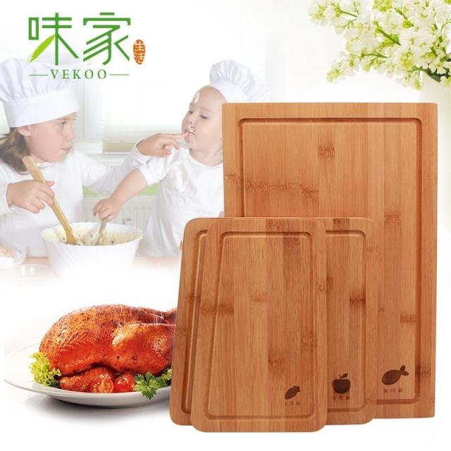 Taste home haftplatte combination of rectangular cutting board bamboo cutting board chopping classification cutting board chopping wood home kitchen cutting board cutting board knife board