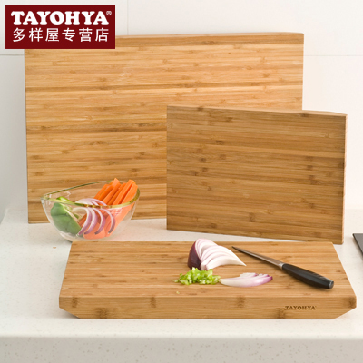 Tayohya genuine counter diverse housing smart trapezoidal no natural bamboo cutting board chopping knife cutting board chopping board chopping board
