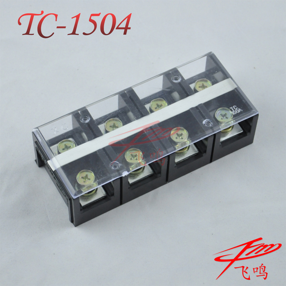Tc-1504, 150a/p temperature high current copper terminals terminal block wiring board connector