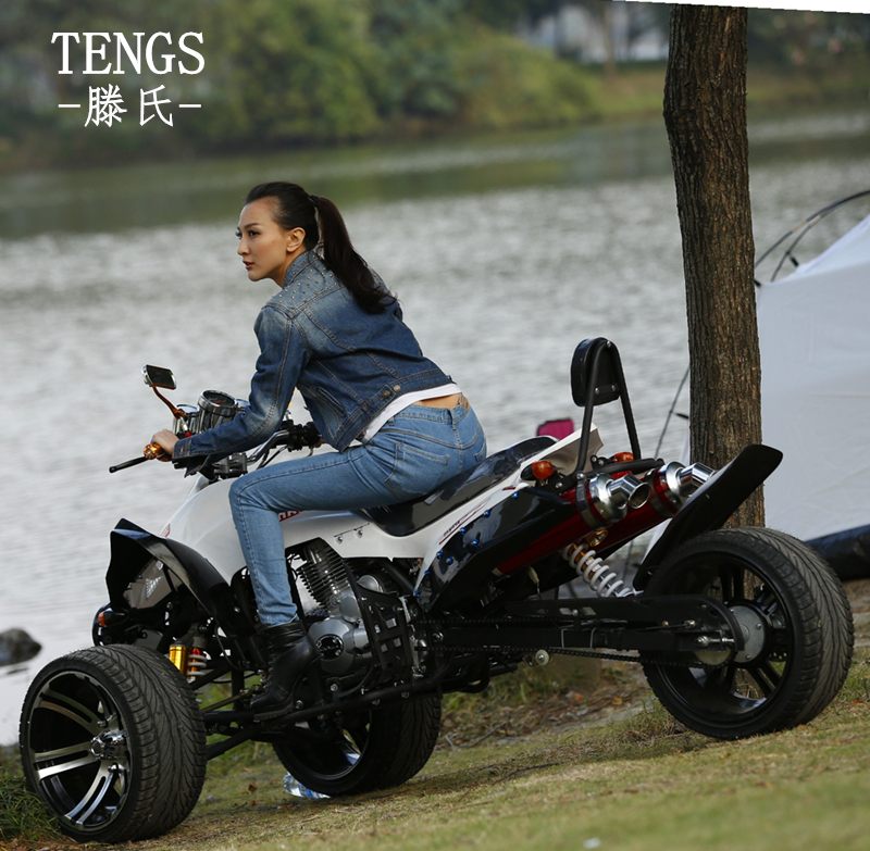 Tengs tengshi suv atv 250cc water cooled down three motorcycle 14 inch road tires