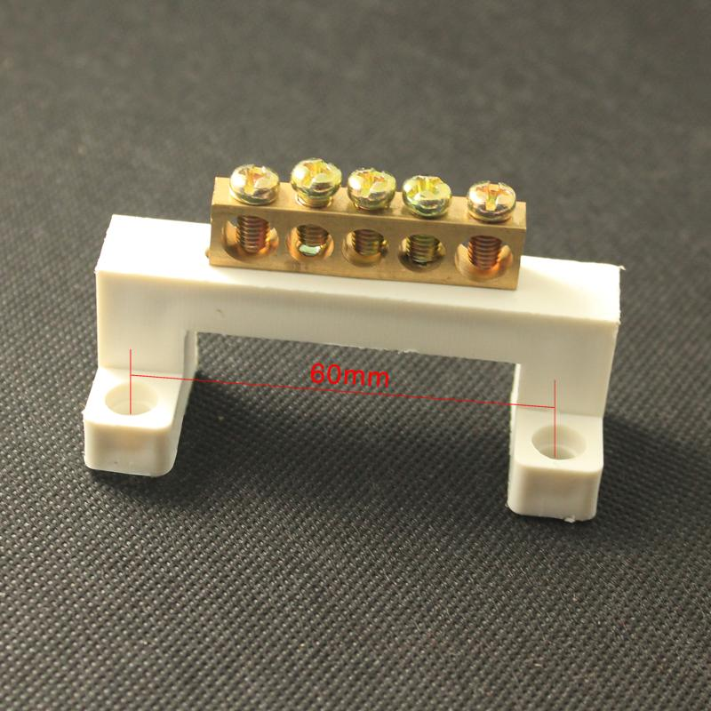 Terminal blocks neutral ground row row b95 magnetic-optical 5 v copper grounding cable row 10 holes