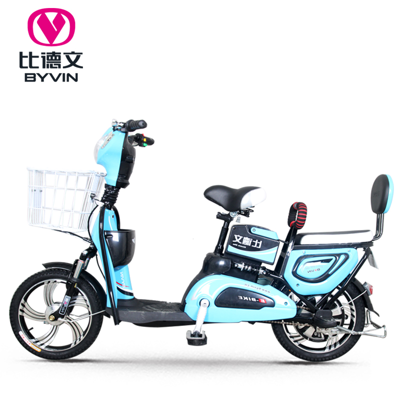 Than the german electric car electric bicycle v adult men and women double car battery scooter scooter whole new