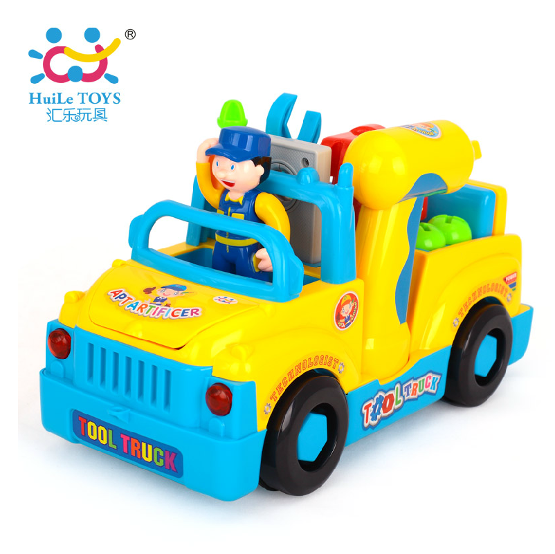 The department of music toy 789 removable tool truck electric toy car children's toys boy toy electric