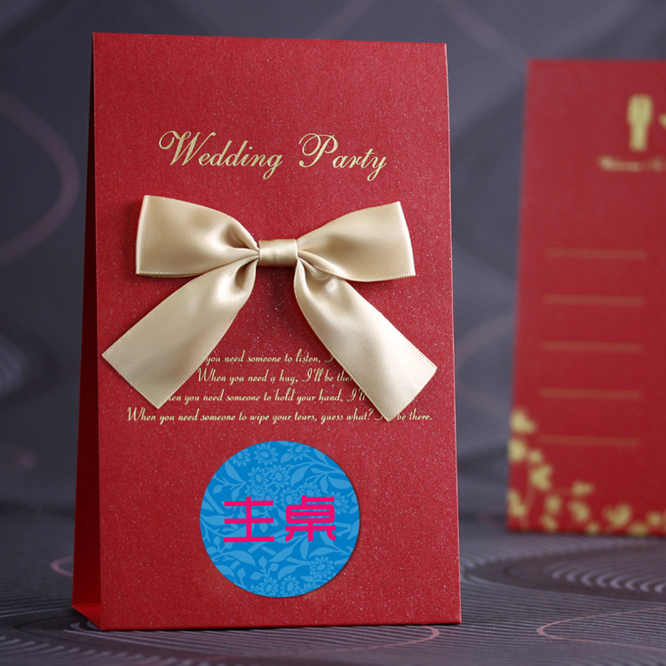 The first printed wedding table cards custom seat card creative wedding guest seats taiwan card table card recorded a korean 0901-B