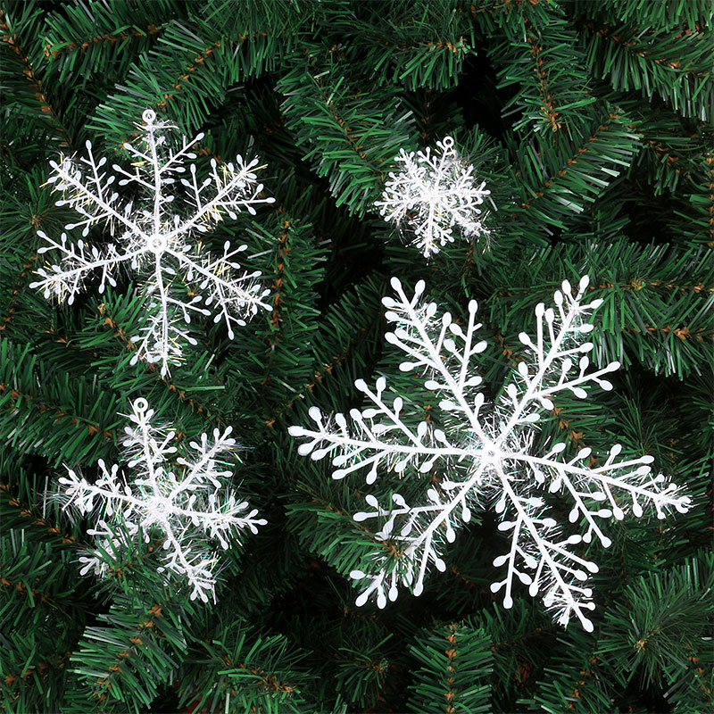 The glory of the christmas holiday decorations christmas snowflake snowflake piece 10cm kabob ceiling hangings decorative glass window stickers
