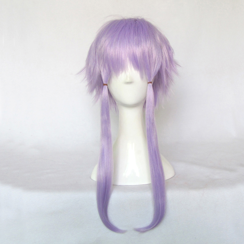 The magic cosplay wig v home vocaloid3 library knot edge light purple tail lengthened