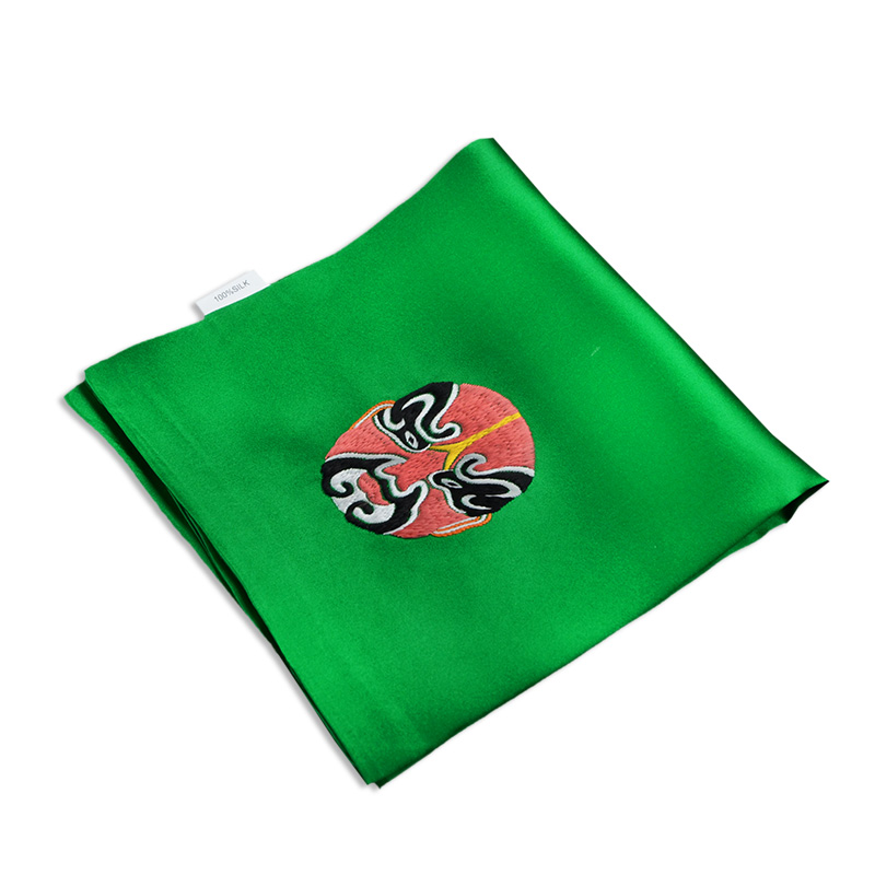 The name of the ancient art of embroidery hand embroidery facebook 100% silk double silk men's handkerchief handkerchief
