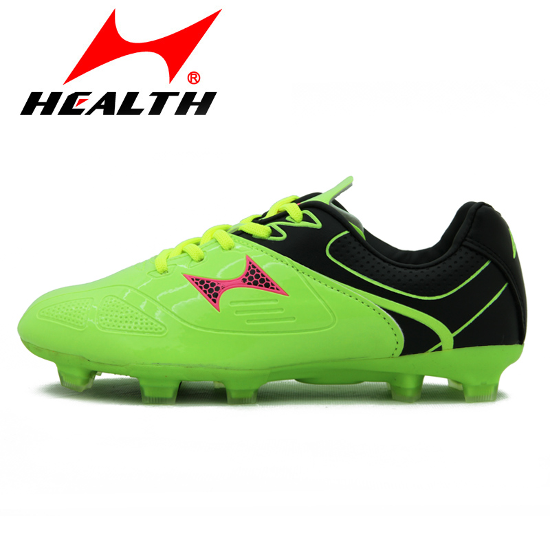 The new children's soccer shoes broken spikes hales professional turf soccer shoes training shoes breathable wear and men and women