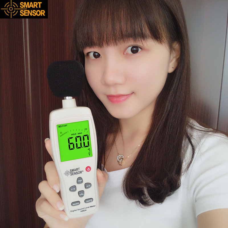The new cima AS824 high precision noise decibel meter noise meter digital sound level meter noise meter noise tester