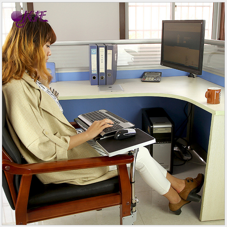 The new creative armchair lazy mouse tray keyboard tray with a laptop stand laptop desk stand