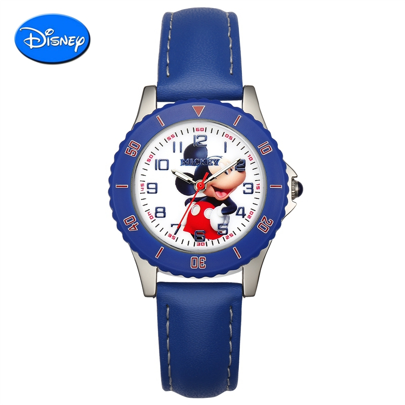 The new disney children watch boy blue pointer watch students watch quartz watch children watch mickey cartoon