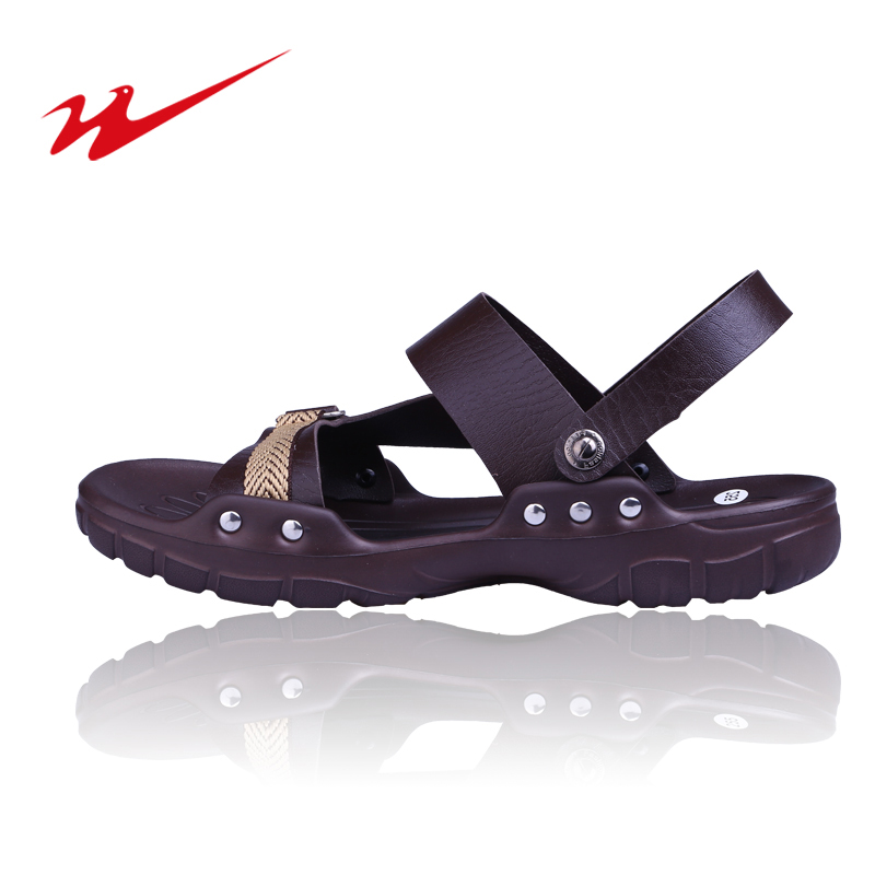 8f31763f3 Get Quotations · The new double star sports sandals summer sandals men  sandals breathable hollow korean version of casual