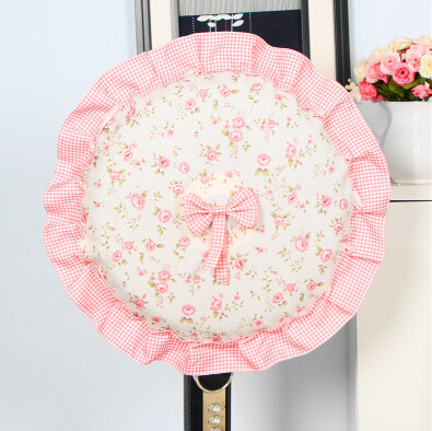 The new fan cover fan cover fan cover dust cover lace fabric floor round free shipping