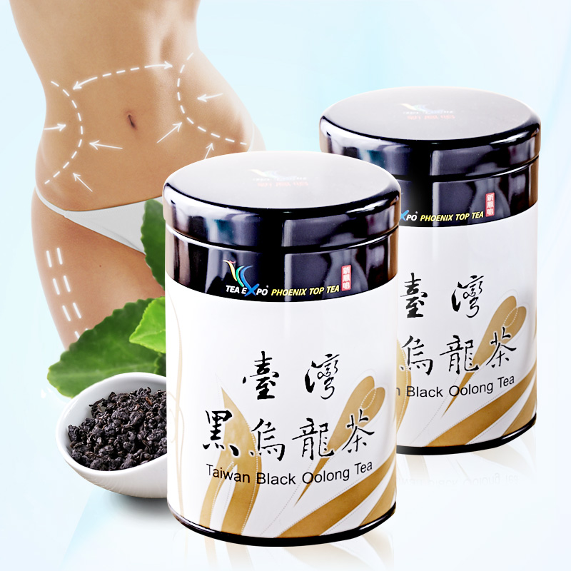 The new fengming two rillette cellulite oil cut black oolong tea taiwan super black oolong tea carbon baking luzhou