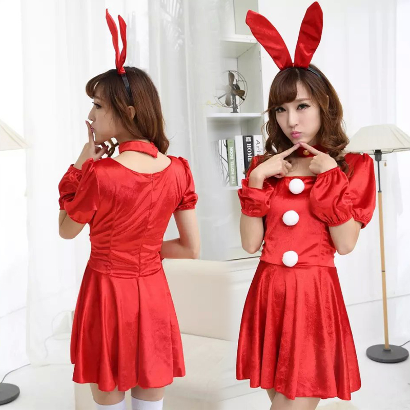 The new halloween costume masquerade sexy bunny uniform temptation nightclub costumes costumes fashion