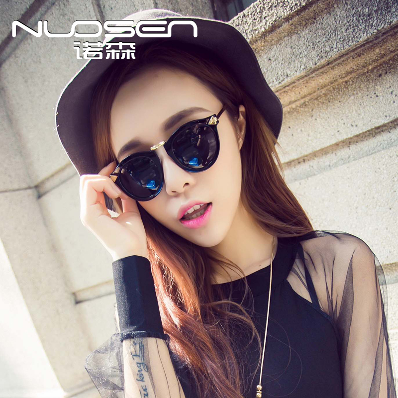 The new polarized sunglasses for men and women influx of european and american anti-uv sunglasses myopia sunglasses retro sunglasses big box arrow