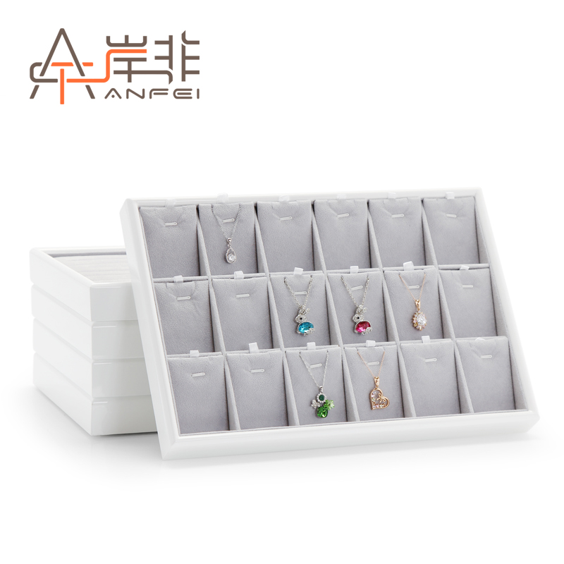 The other side of the non new wooden piano lacquer jewelry storage box jewelry display tray jewelry tray jewelry counter to see the goods