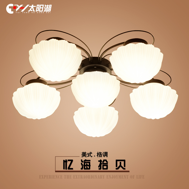 The sun lake idyllic mediterranean american country living room lights led ceiling chinese bedroom lamp scandinavian restaurant lights