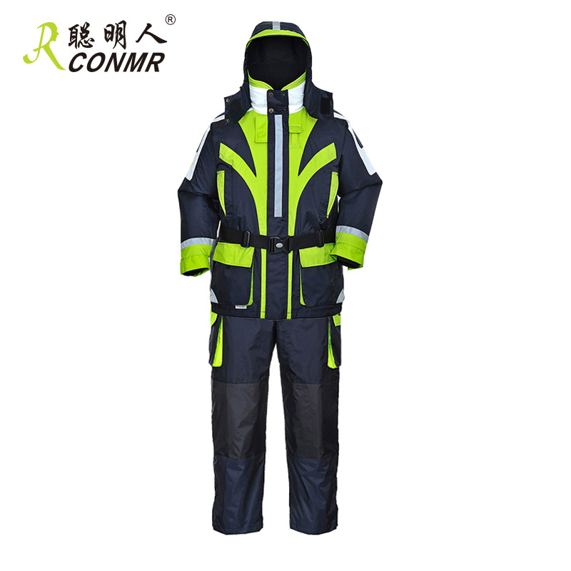 The wise man professional fishing clothes fishing rock fishing ice fishing buoyancy suit coveralls warm waterproof breathable fishing clothes